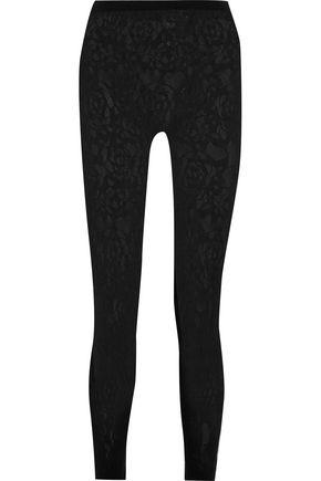 McQ Alexander McQueen Stretch-knit leggings