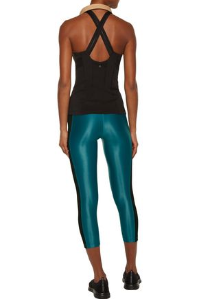 KORAL Dynamic Duo mesh-paneled stretch leggings