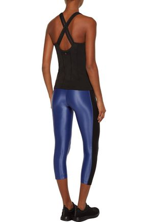 KORAL Dynamic Duo mesh-paneled stretch leggings