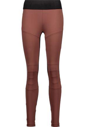 KORAL Moto two-tone stretch leggings