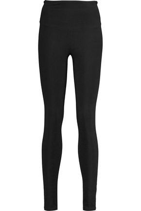 YUMMIE by HEATHER THOMSON® Milan cotton-blend jersey leggings