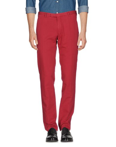 Купить Повседневные брюки кирпично-красного цвета