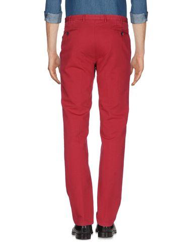 Фото 2 - Повседневные брюки кирпично-красного цвета