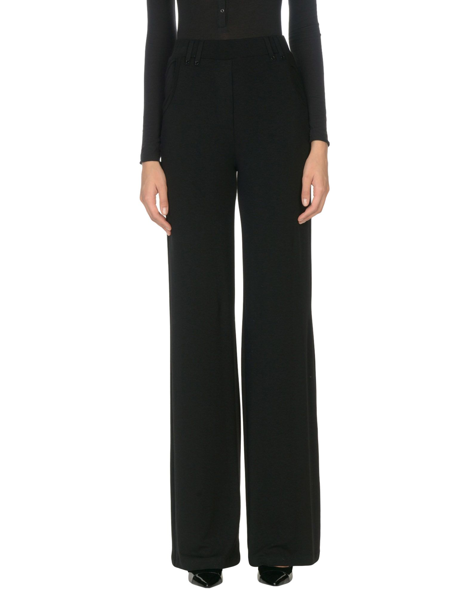 PLEIN SUD JEANIUS Casual Pants in Black