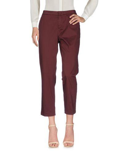 Фото - Повседневные брюки цвет баклажанный