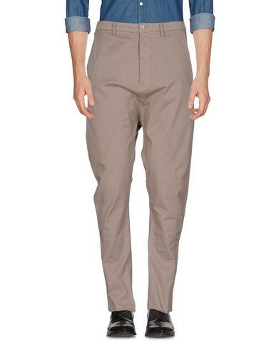 Фото - Повседневные брюки от POÈME BOHÈMIEN серого цвета