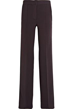 BURBERRY Striped stretch-jersey wide-leg pants