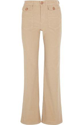 SEE BY CHLOÉ Cotton-blend corduroy bootcut pants