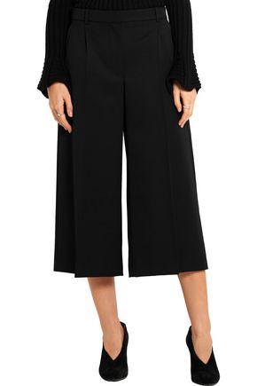 ALEXANDER MCQUEEN Wool-twill culottes