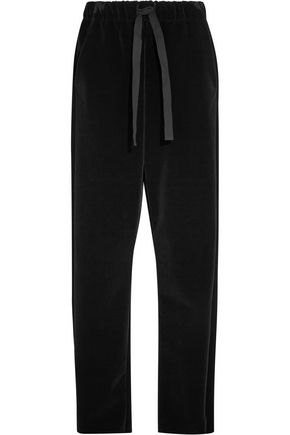 MM6 by MAISON MARGIELA Velvet wide-leg pants