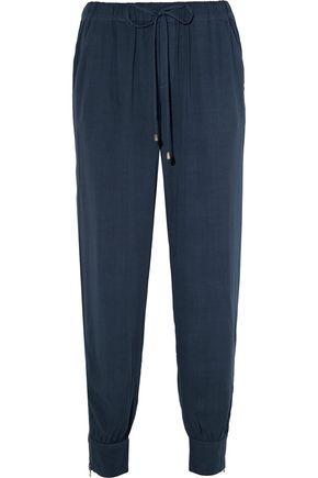 SPLENDID Crepe track pants
