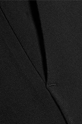 ROCHAS Cropped crepe wide-leg pants