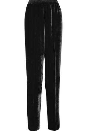 STELLA McCARTNEY Camilla velvet track pants