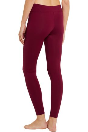 LIVE THE PROCESS V stretch-Supplex® leggings
