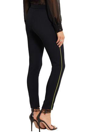 GIANNI VERSACE Stretch-gabardine skinny pants