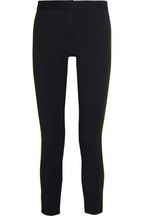GIANNI VERSACE Stretch-gabardine skinny pants