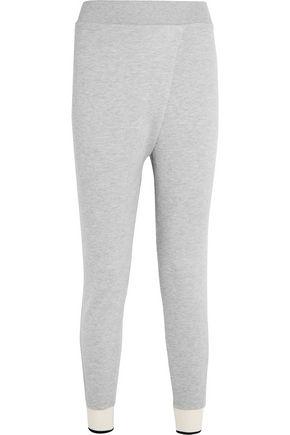 RAG & BONE Wrap-effect cotton-blend jersey track pants