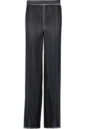 EMILIO PUCCI Plissé-crepe wide-leg pants