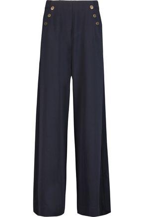 ZIMMERMANN Havoc crepe wide-leg pants