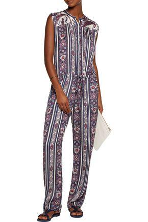 ISABEL MARANT ÉTOILE Tad printed crepe jumpsuit
