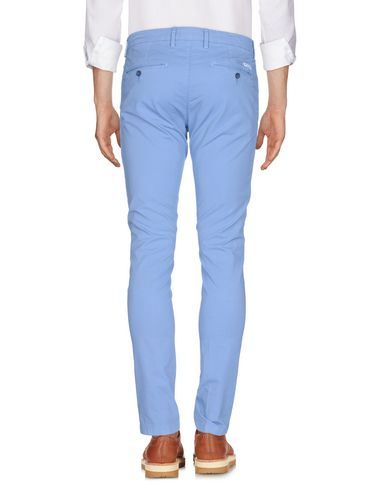 Фото 2 - Повседневные брюки от P. LANGELLA лазурного цвета