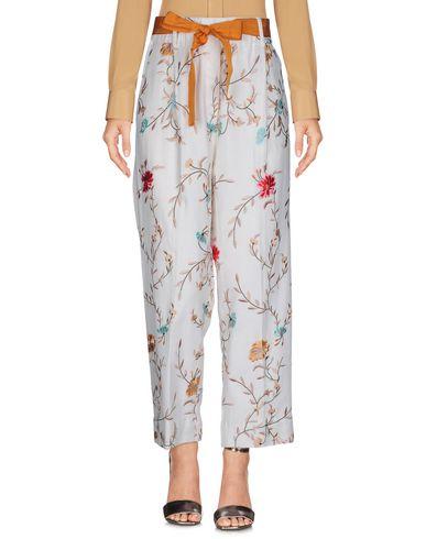 Фото - Повседневные брюки от JUCCA цвет слоновая кость