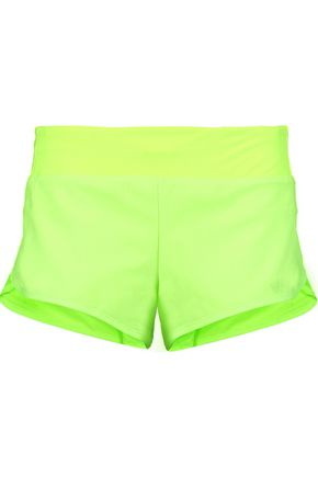 APL® ATHLETIC PROPULSION LABS Neon stretch-jersey shorts