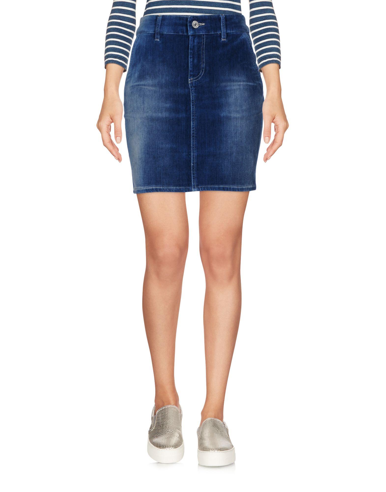 BLUGIRL FOLIES Джинсовая юбка blugirl folies джинсовая рубашка