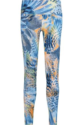 BODYISM I Am Fearless printed stretch leggings