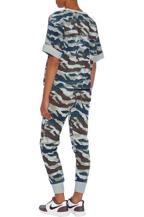 KAIN LABEL Keller cotton-blend jersey track pants