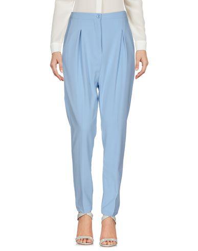 Фото - Повседневные брюки от BERNA небесно-голубого цвета