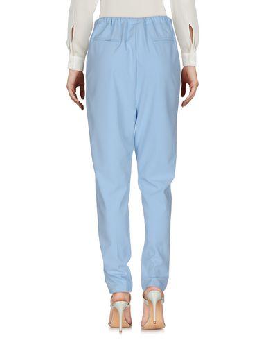 Фото 2 - Повседневные брюки от BERNA небесно-голубого цвета