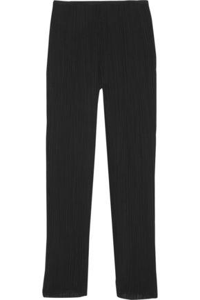 TOTÊME Tangier plissé-crepe tapered pants