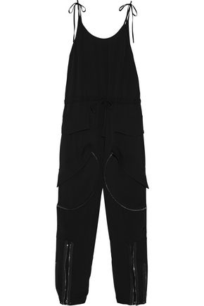TOM FORD Silk-georgette jumpsuit