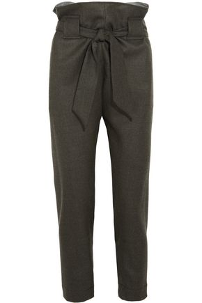 VIVIENNE WESTWOOD ANGLOMANIA Kung Fu tapered wool pants