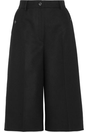 MM6 MAISON MARGIELA Wool-blend felt culottes