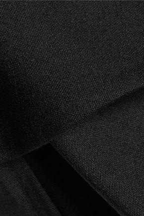 GOEN.J Ruffled wool-blend jumpsuit