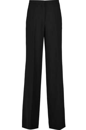 ETRO Wool-crepe straight-leg pants