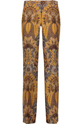 ETRO Brocade straight-leg pants