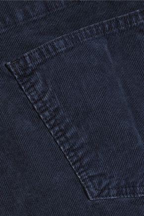 CURRENT/ELLIOTT The Shirley stretch-corduroy overalls