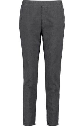 CURRENT/ELLIOTT The Bi Coastal cotton-crepe straight-leg pants