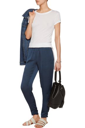 ENZA COSTA Charmeuse tapered pants