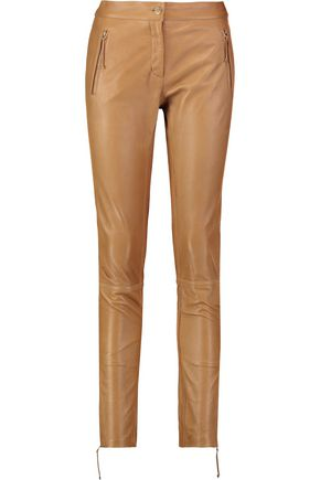 ROBERTO CAVALLI Leather skinny pants