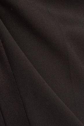 ROBERTO CAVALLI Wool-blend straight-leg pants
