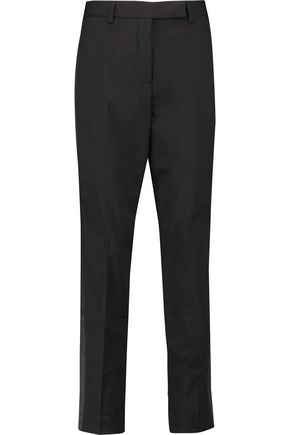 ROBERTO CAVALLI Wool-blend straight-leg pants