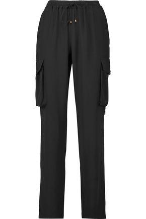 ROBERTO CAVALLI Silk-crepe pants
