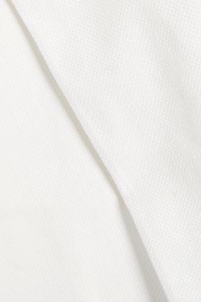 ROBERTO CAVALLI Cotton-blend straight-leg pants