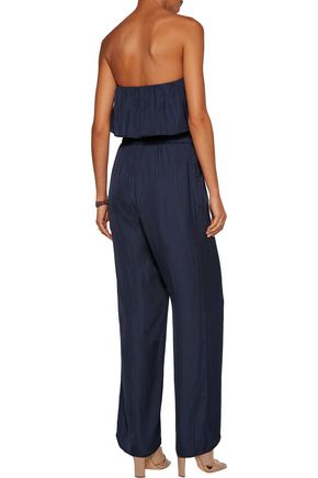 TART COLLECTIONS Diara layered crepe jumpsuit