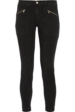 J BRAND Genesis stretch-cotton twill skinny pants