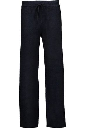 T by ALEXANDER WANG Ribbed stretch-knit wide-leg pants